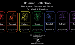 'Balance Collection' Therapeutic Essential Oil Blends for Mind & Emotions.
